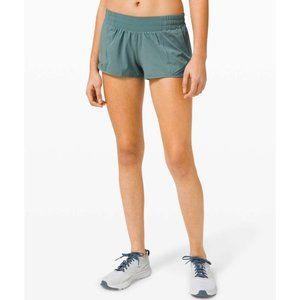 "Lululemon Hotty Hot Shorts 2.5"" Tidewater Teal"